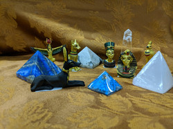 EGYTIAN GODS & CRYSTAL PYRAMIDS