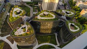 Zelené střechy na komerčních budovách lépe prodávají: nájemci je ocení