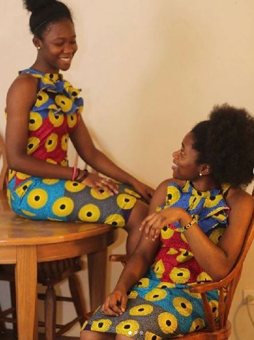Nsubra Halter Ruffle Dress