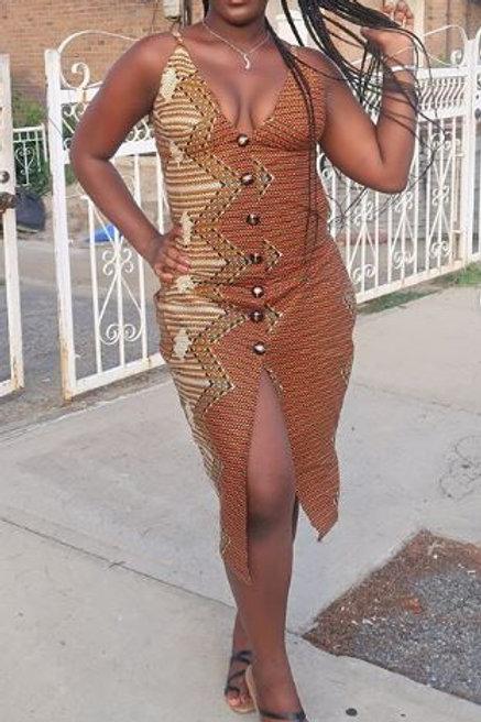 Samina Kete Midi Dress