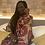 Thumbnail: Nsubra African Print Satin Pajama Set
