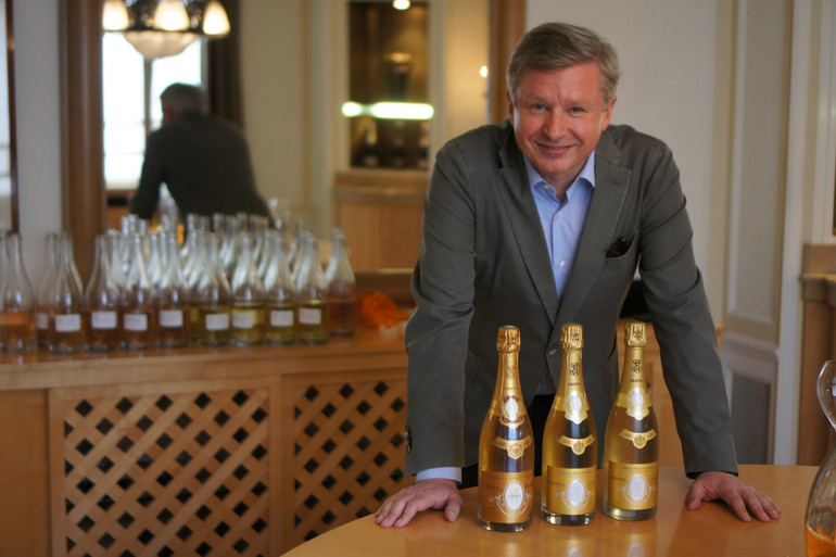Jean-Baptiste Lécaillon, Cellar Master Champagne Louis Roederer