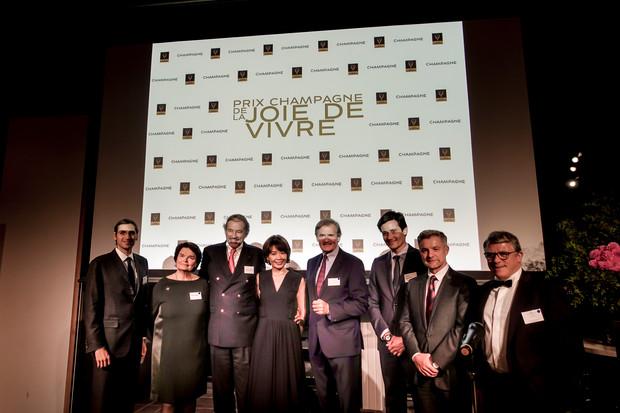 Champagne: Joie de Vivre賞の授賞式&レセプション