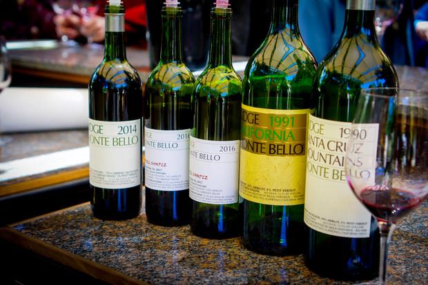 シリコンバレーの近隣、伝説的なワインを生むリッジ・ヴィンヤーズ