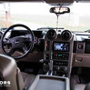 Hummer H2 interiér