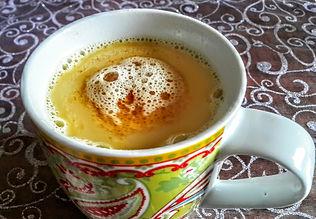 """""""חלב מוזהב"""" Golden Milk - תה כורכום"""