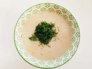 מרק כרובית ושמיר