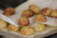 לביבות תפוחי אדמה וזוקיני אפויות