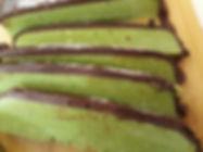 קוביות שוקולד מנטה