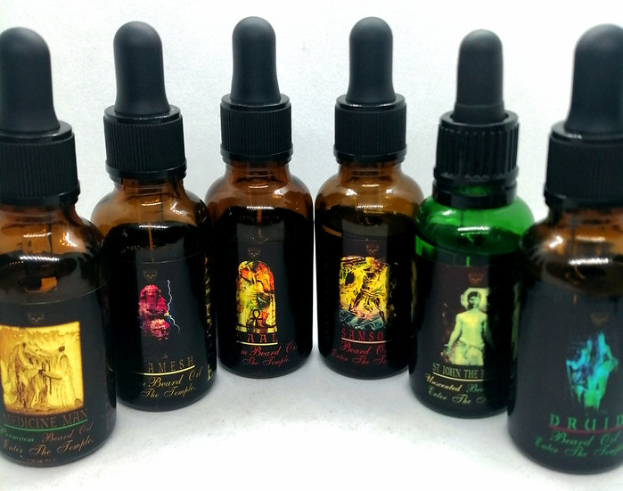 The Complete Tailored Collection - 30ml - 6 Beard Oils - INFERNAL BEARD CO