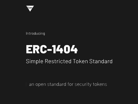 Restricting Who Can Hold and Trade Your Security Tokens with ERC-1404 and Whitelisting
