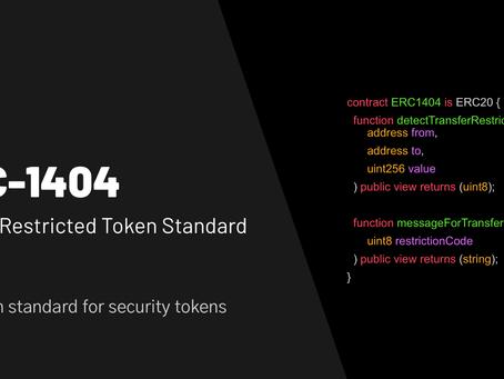 ERC-1404: Designating Administrators to Enable Scalability