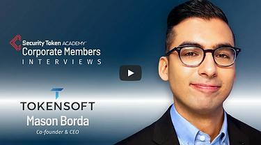 Security Token Academy Member video wth TokenSoft's Mason Borda