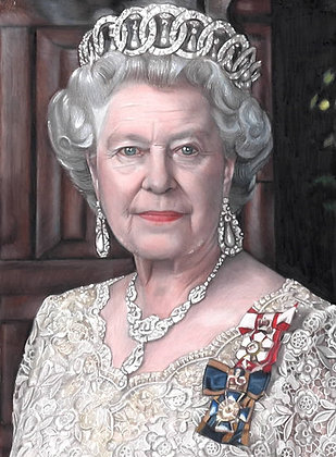 Queen Elizabeth (Limited Edition Print)