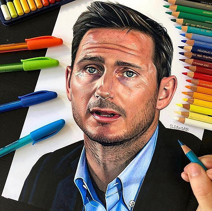 Frank Lampard (Limited Edition Print)