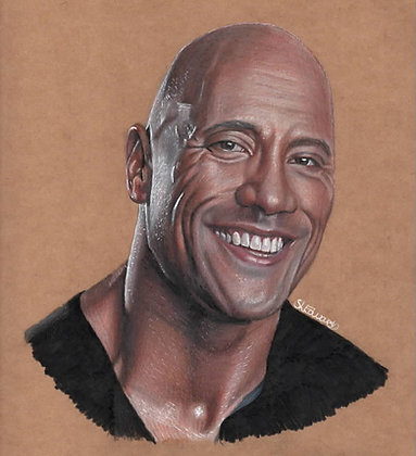 The Rock (Original Drawing)
