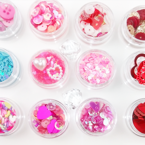 Sequins Mix - SWEETHEART Collection