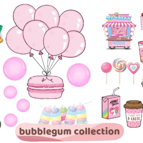 BUBBLEGUM Collection - BRAND NEW