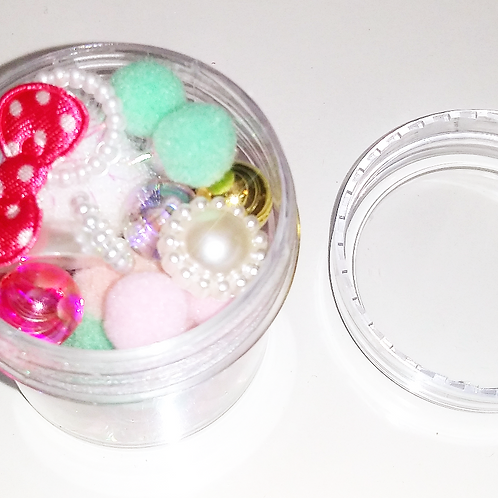 Sequins Container - Whimsical Fun