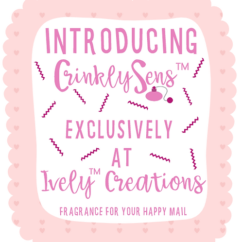 CRINKLYSENS™ - PINK (COTTON CANDY SCENTED)