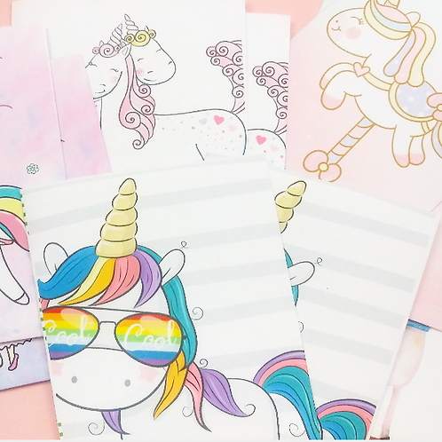 Goodie Bags - UNICORN Collection - Set of 10