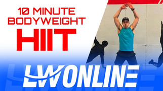 10 MINUTE HIIT WORKOUT - BODYWEIGHT ONLY! Follow Along Workout with Coach Trevor!