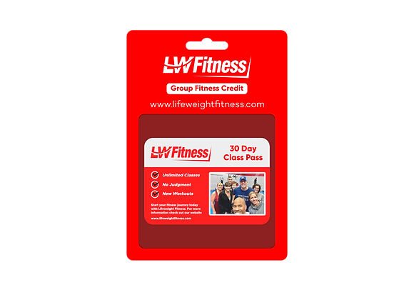 1 Month Group Fitness Pass