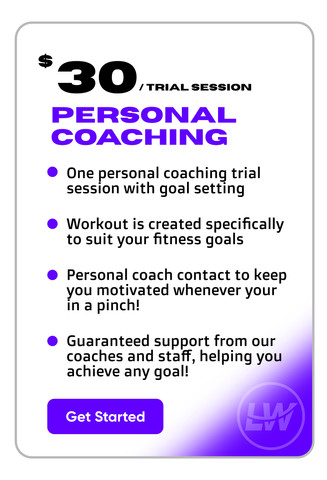 LWStrength Personal Coaching Trail Session