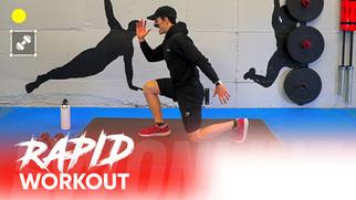 Rapid Workout: LEG CRUSHER!