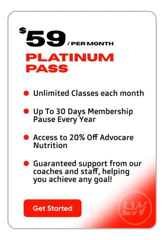 LWStrength Platinum Pass