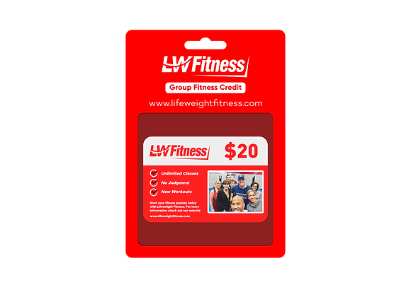Group Fitness Credit