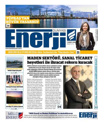Enerji Dünyası Dergisi_01.02.2021_ Kapak