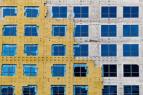 Construction of external wall thermal in