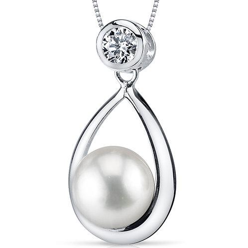 White Freshwater Pearl Pendant