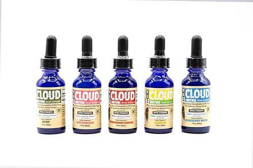 VG Cloud Tincture - CBD & Terpene Rich Hemp Oil