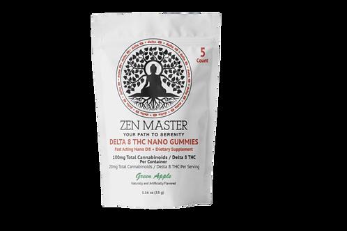 Zen Master D8 Delta 8 Nano Gummies