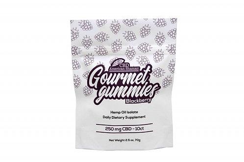 CBD Gourmet Gummies 250mg (10ct)