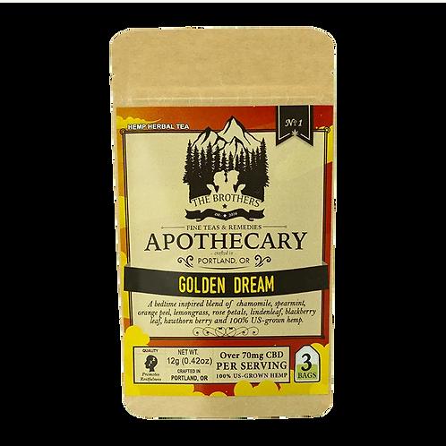 Golden Dream | Hemp CBD Tea
