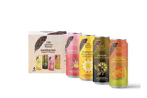 CBD Sparkling Tea (4 pack)