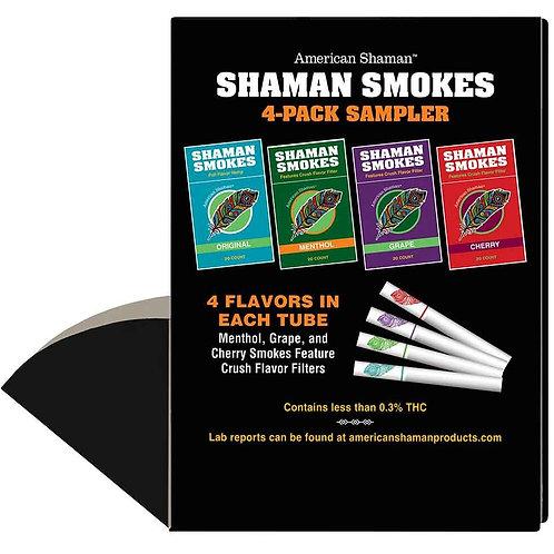 Shaman Smokes 4-Pack Sampler