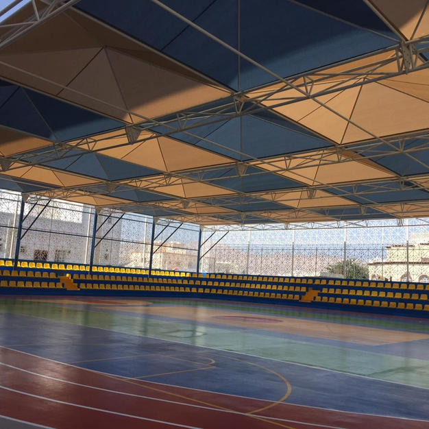 Long Span Shade Structure for your school childrens play area