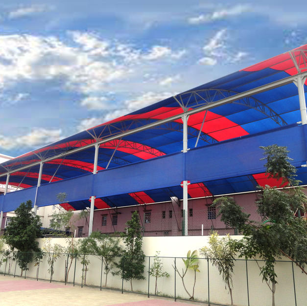 Long Span Shade Structure for your school