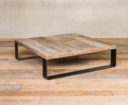 Table basse orme et métal