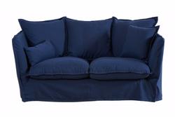 Canapé bleu encre