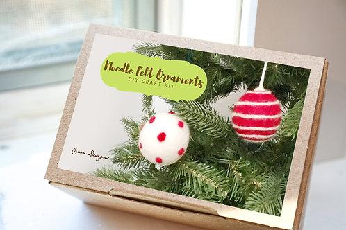 Needle Felting Ornament Kit   Creative DIY Craft Kit