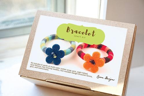 DIY Yarn Bracelet Craft Kit