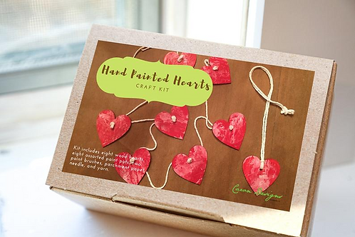 Painting Hearts Craft Kit