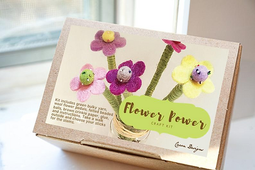 DIY Flower Yarn Craft Kit