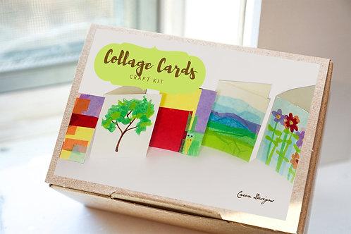 Tissue Collage Art Card Craft Kit