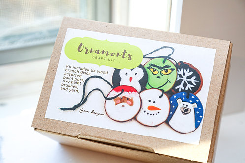Painting Ornaments Craft Kit